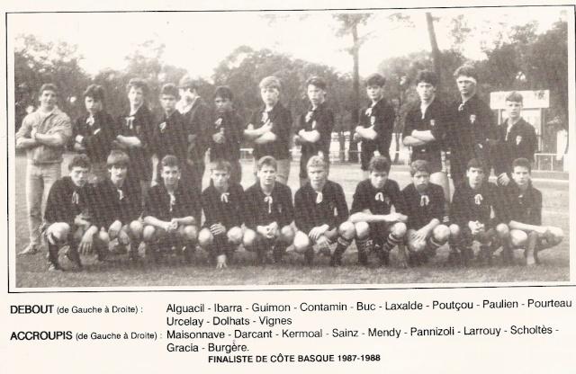 Les reconnaissez-vous ? ... les équipes cadets du Boucau-Stade Cadets40
