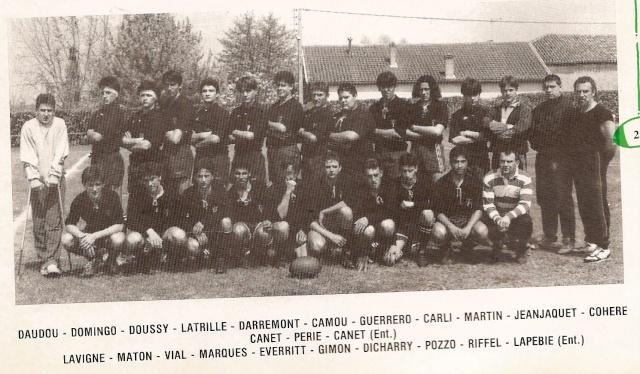 Les reconnaissez-vous ? ... les équipes cadets du Boucau-Stade Cadets44