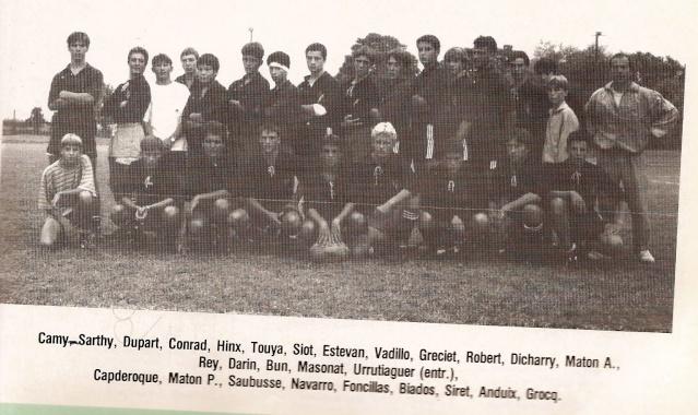 Les reconnaissez-vous ? ... les équipes cadets du Boucau-Stade Cadets45