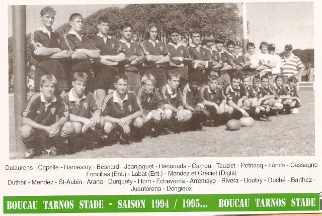 Les reconnaissez-vous ? ... les équipes cadets du Boucau-Stade Cadets46