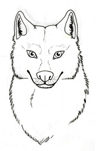 Tuto comment dessiner un loup 2 - Dessin loup garou ...