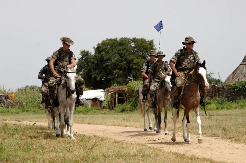 reportage photo de nos soldats au tchad au sein de eurofor 29268310