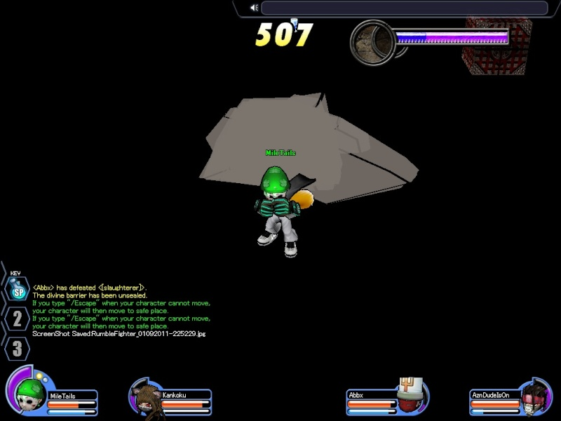 True form of Locke's Dungeon Rumble17