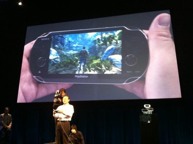 La PSvita de Sony Phphee10