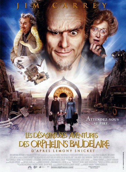 Les désastreuses aventures des Orphelins de Baudelaire Affich11