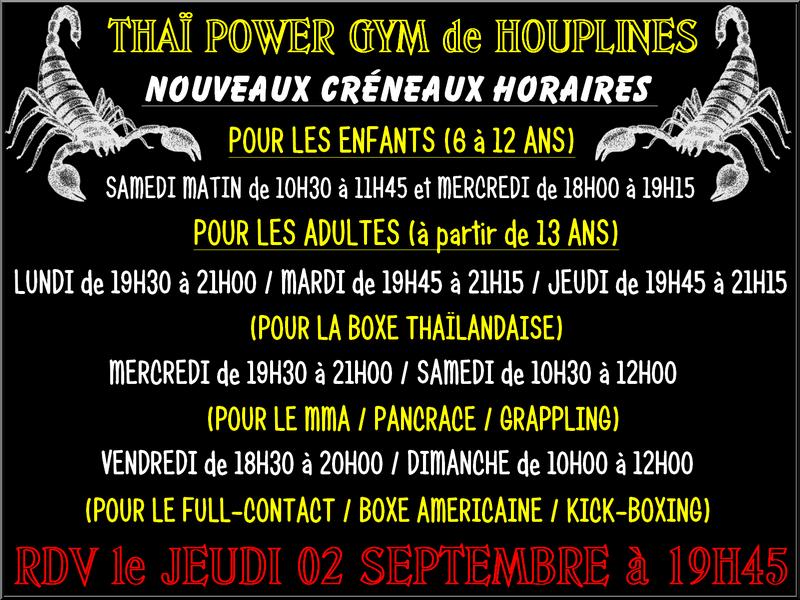 HORAIRES DES ENTRAINEMENTS 2011/2012 Montag10