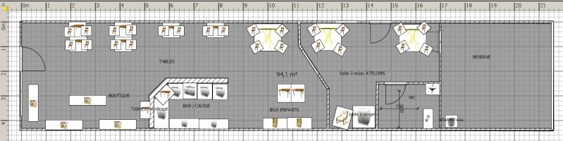 Projet de poussette café dans le sud Plan10