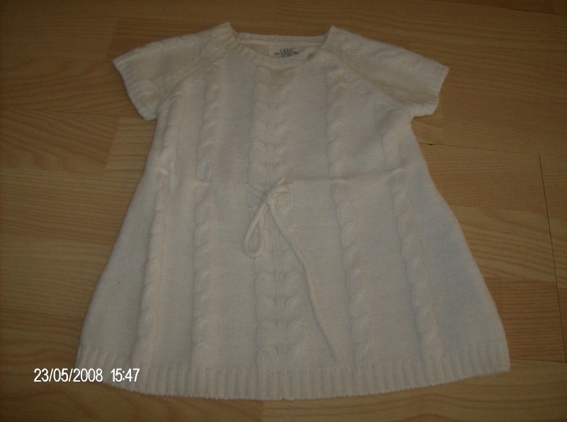 H&M WHITE DRESS FOR SALE size 62 Jurk10