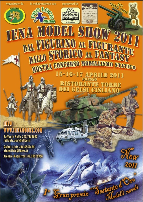 Iena Model Show 2011 Poster10