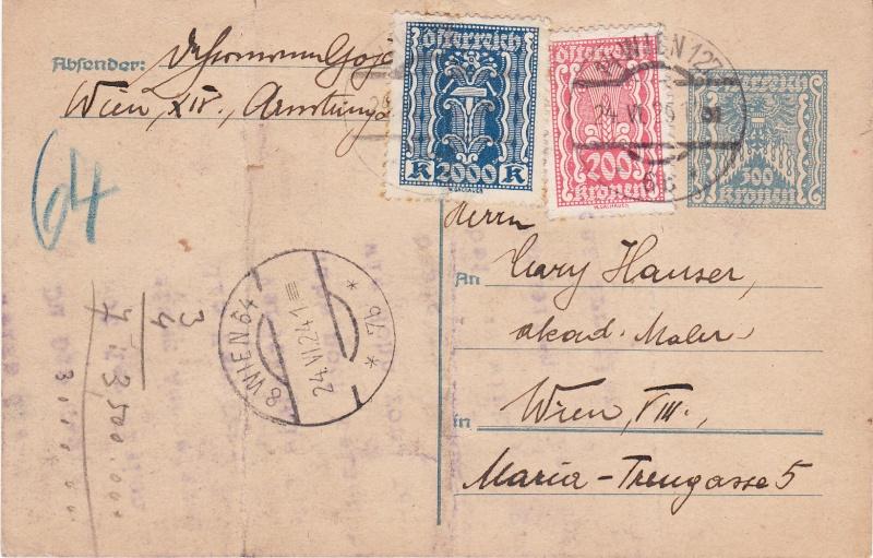 """Postkartenserie """"Quadratischer Wertstempel - Wertziffer im Dreieck"""" 1922-24 - Seite 3 Img14"""