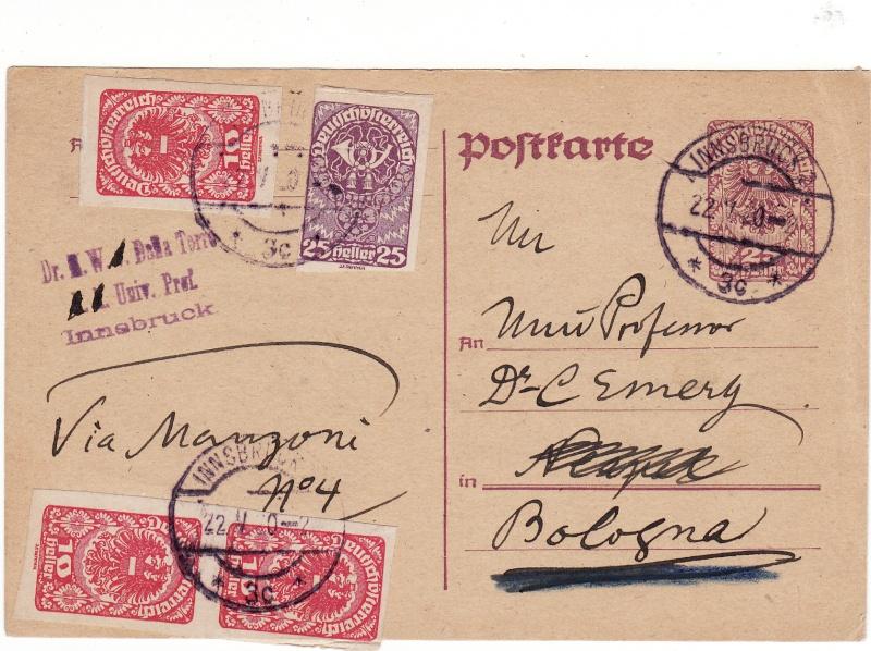 """Postkartenserie """"Neuer Wappenadler"""", Inschrift """"Deutschösterreich"""" Img24"""