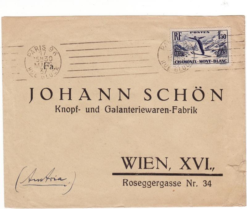 Briefe aus Frankreich   /   1930 - Kriegsbeginn Img25