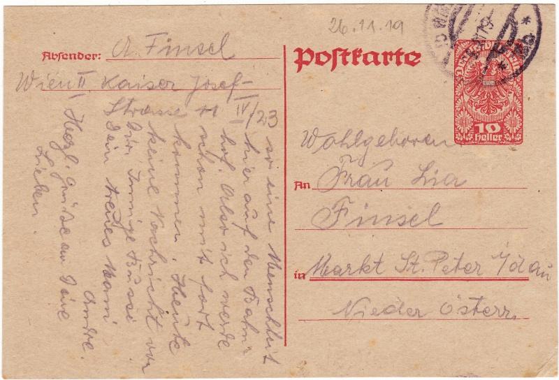 """Postkartenserie """"Neuer Wappenadler"""", Inschrift """"Deutschösterreich"""" Img39"""