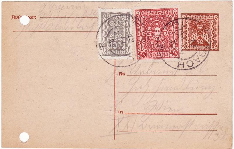 """Postkartenserie """"Quadratischer Wertstempel - Wertziffer im Dreieck"""" 1922-24 - Seite 2 Img_0012"""