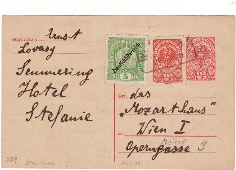 """Postkartenserie """"Neuer Wappenadler"""", Inschrift """"Deutschösterreich"""" Img_0014"""