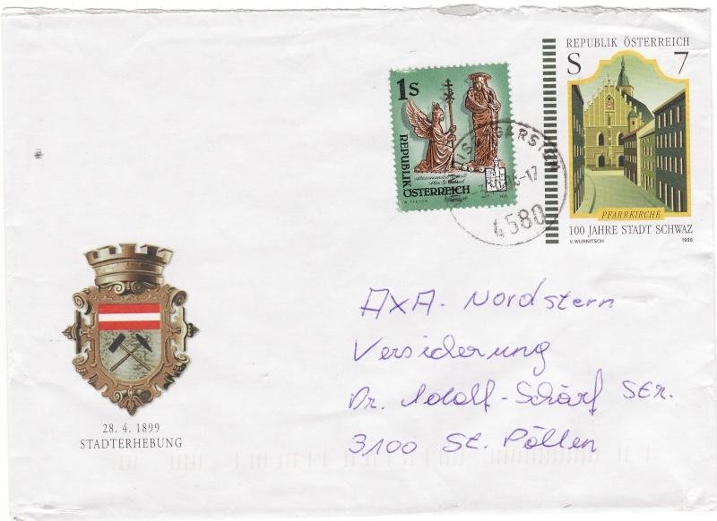 Amtliche Briefumschläge Republik Österreich, gelaufen Img_0027