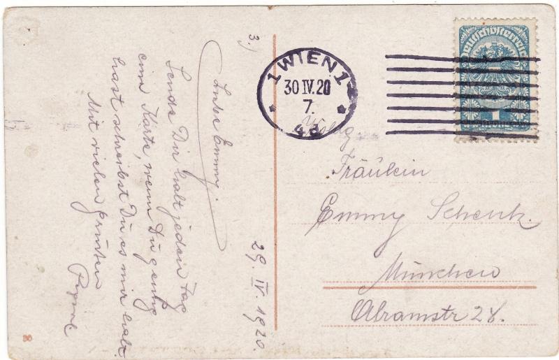 Republik Deutsch-Österreich  -  Bedarfspost Dez. 1918 - Dez. 1921 Img_0043