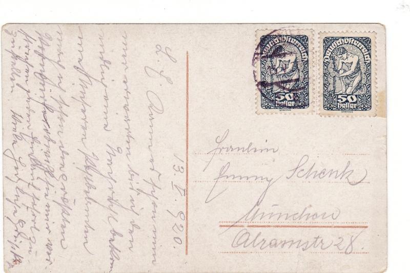 Republik Deutsch-Österreich  -  Bedarfspost Dez. 1918 - Dez. 1921 Img_0046