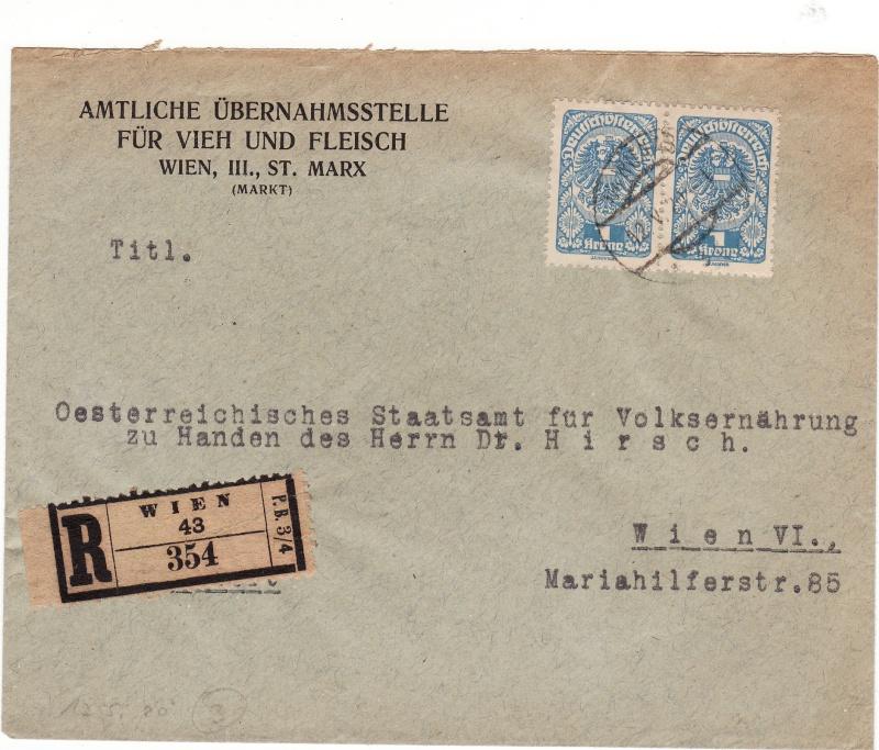 Republik Deutsch-Österreich  -  Bedarfspost Dez. 1918 - Dez. 1921 Img_0047