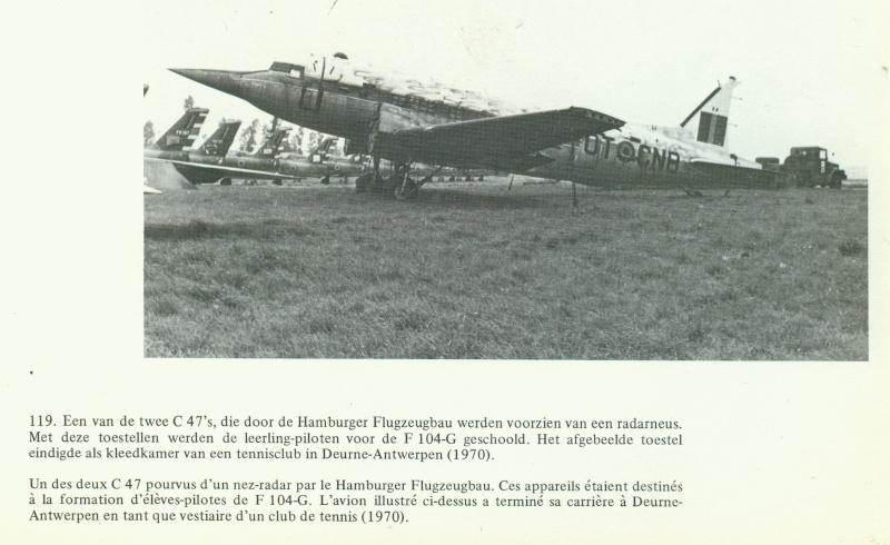 C 47 pour l'entrainement des pilotes de F104. Dc3_ra10