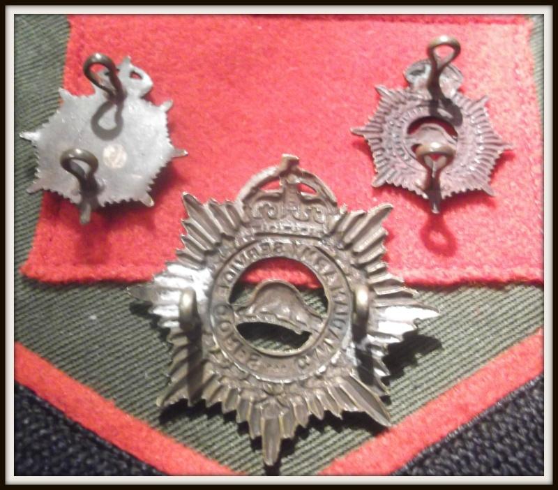 cap badge et collard du C.A.S.C. Dscf5615