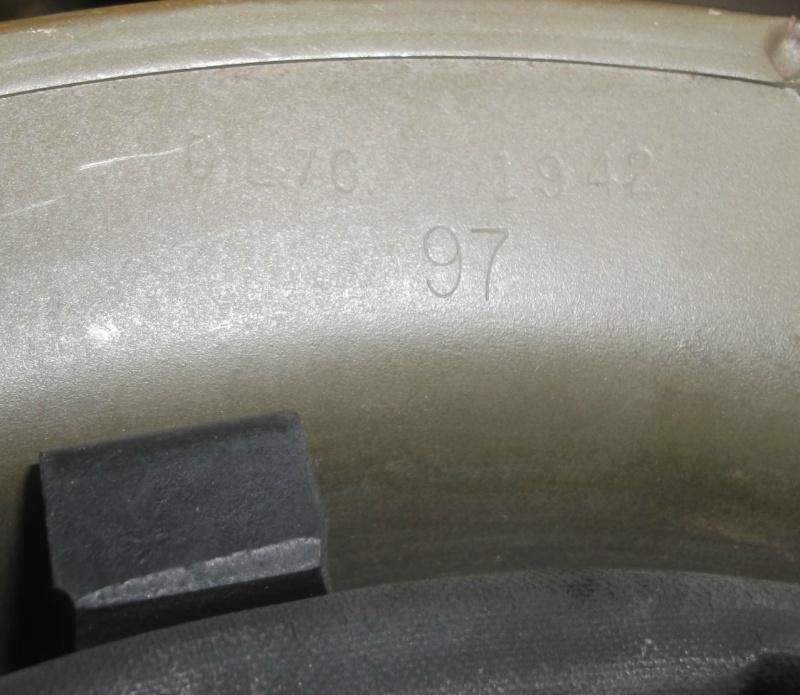 Casque MKII du Royal artillerie 1942 ( Canada ) Dscf6070