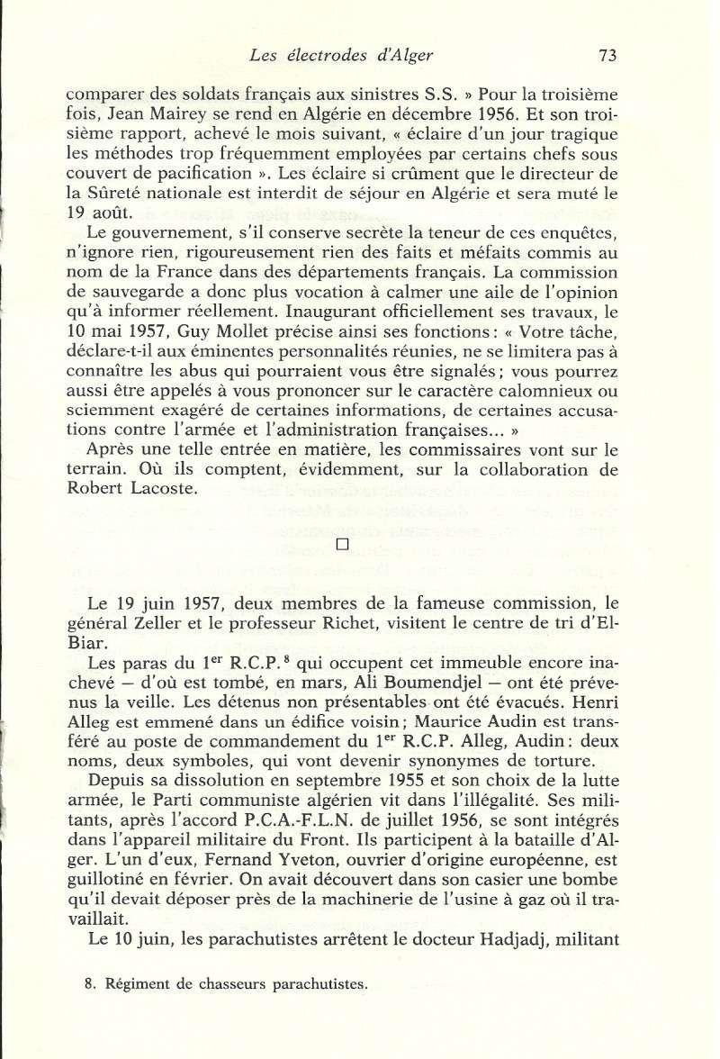 Réseaux de soutien à la guerre d'Algérie - Page 2 Algeri70
