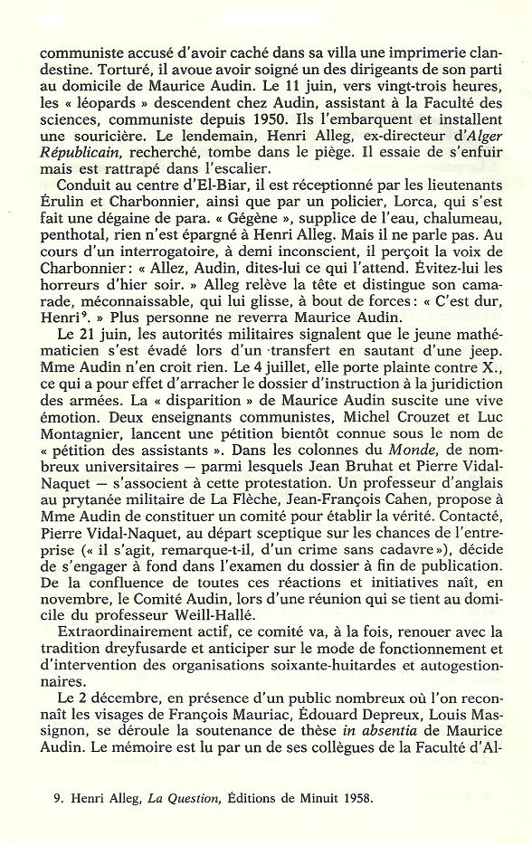 Réseaux de soutien à la guerre d'Algérie - Page 2 Algeri71