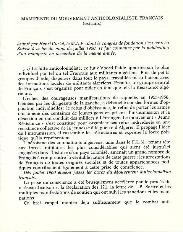 Réseaux de soutien à la guerre d'Algérie - Page 2 Algeri76