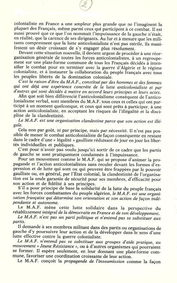 Réseaux de soutien à la guerre d'Algérie - Page 2 Algeri77