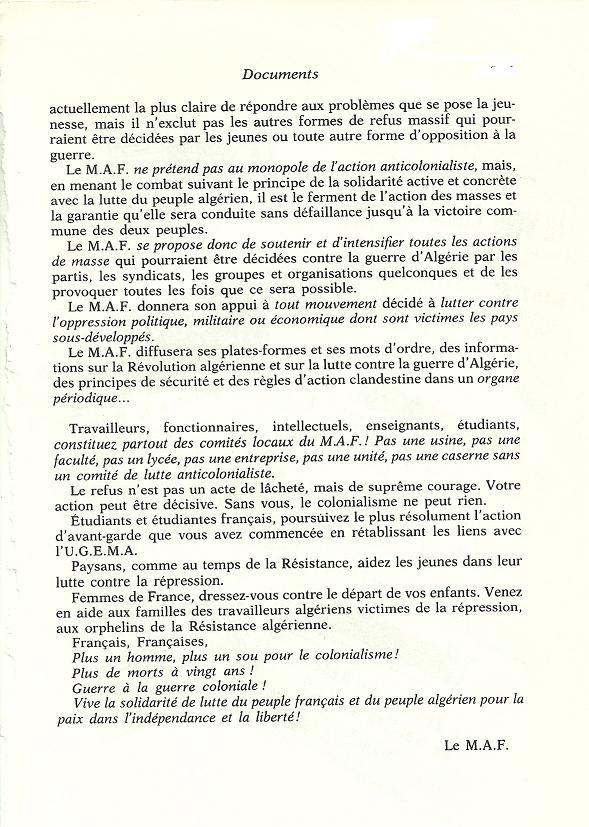 Réseaux de soutien à la guerre d'Algérie - Page 2 Algeri78