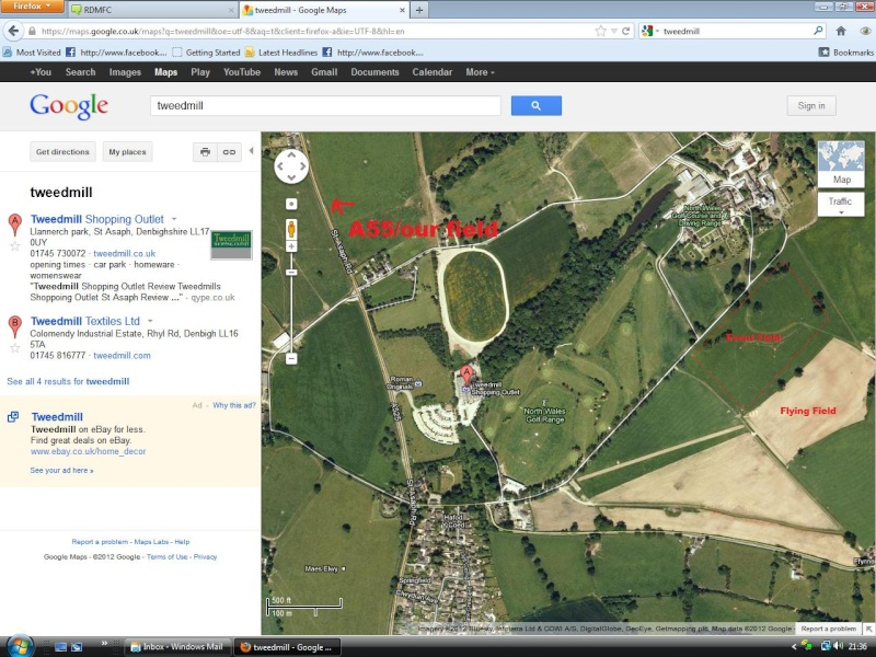 Llanerch Hall Display (Directions) Direct10
