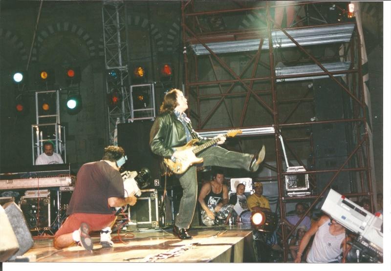 Photo de Silviano Martini - Pistoia Blues Festival, Italie, 2 juillet 1994 Gallag11
