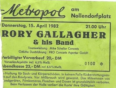 Photo de Bernd Parker - Metropol, Berlin, 14 ou 15 avril 1982 Image_42