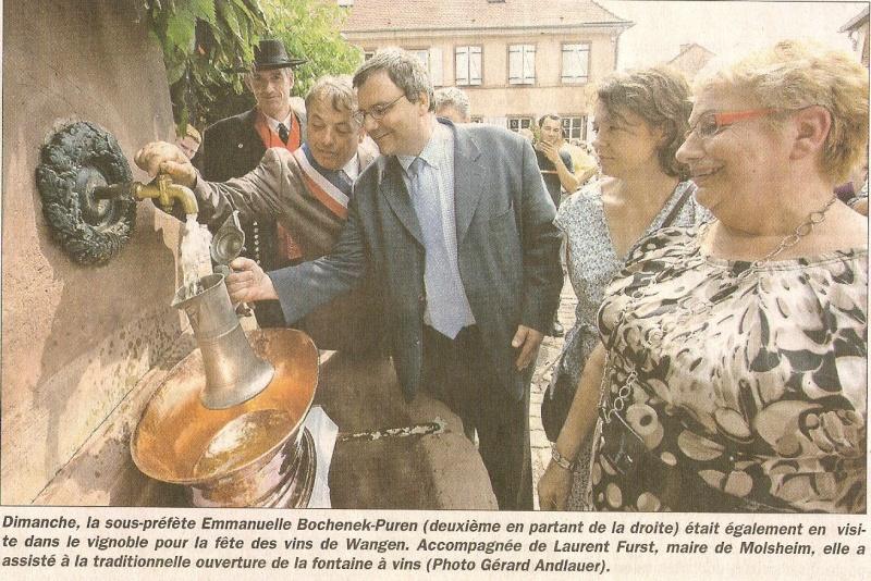 Wangen: Fête de la Fontaine 2010 ,183 ans d'histoire ...dans le respect de la tradition Numari10