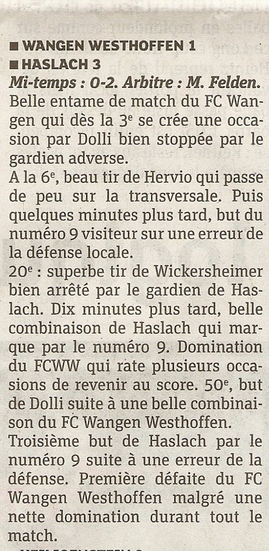 L e FC Wangen Westhoffen - Page 3 Scan0311