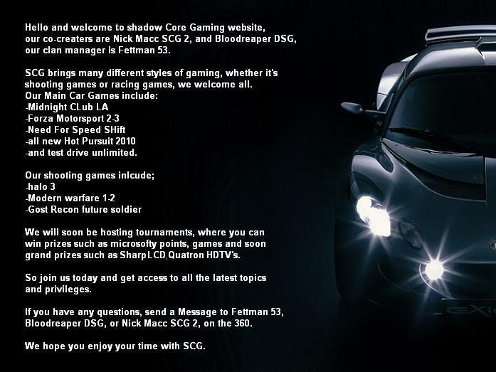Free forum : Shadow Core Gaming - Portal Call_o19