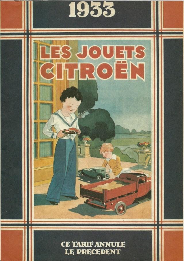 Citroën, les jouets : catalogue 1935 Numari16