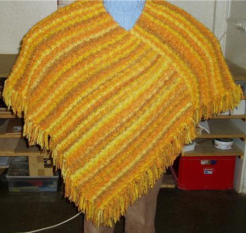 Echarpes et diverses choses tricotées main  Getatt10