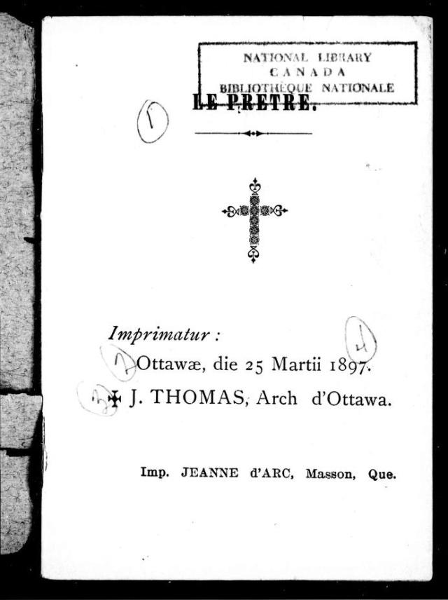 1898 - « COMMENT LA FRANC-MAÇONNERIE TRAVAILLE À DÉTRUIRE LA RELIGION CHRÉTIENNE EN CANADA. » 0_cihm10