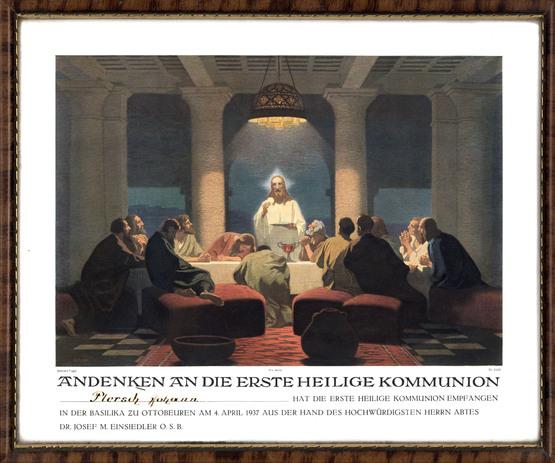 Gebhard Fugel (1863-1939), peintre allemand d'art sacré. 0dc68710