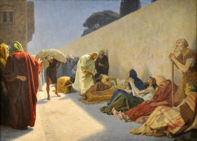 Gebhard Fugel (1863-1939), peintre allemand d'art sacré. 1280px10