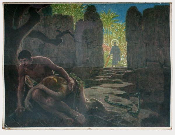 Gebhard Fugel (1863-1939), peintre allemand d'art sacré. 2007ss12