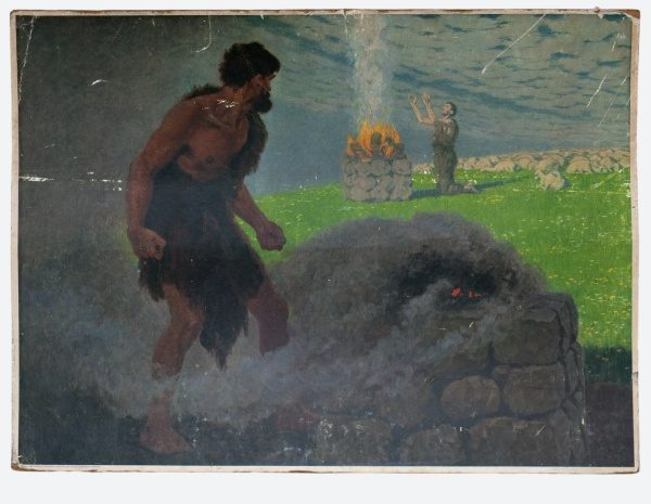 Gebhard Fugel (1863-1939), peintre allemand d'art sacré. 2007ss13