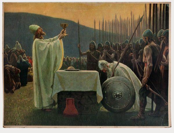 Gebhard Fugel (1863-1939), peintre allemand d'art sacré. 2007ss15