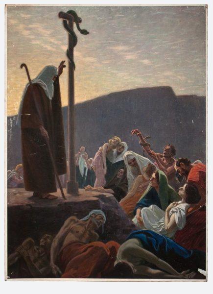 Gebhard Fugel (1863-1939), peintre allemand d'art sacré. 2007ss24