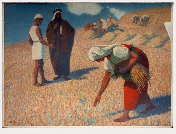 Gebhard Fugel (1863-1939), peintre allemand d'art sacré. 2007ss26