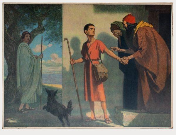 Gebhard Fugel (1863-1939), peintre allemand d'art sacré. 2007ss30