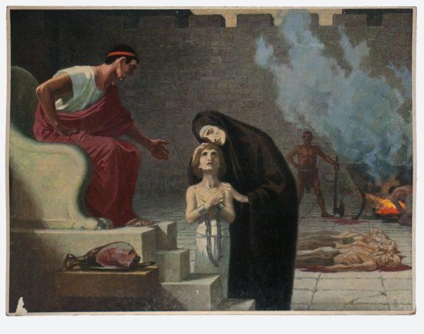 Gebhard Fugel (1863-1939), peintre allemand d'art sacré. 2007ss33
