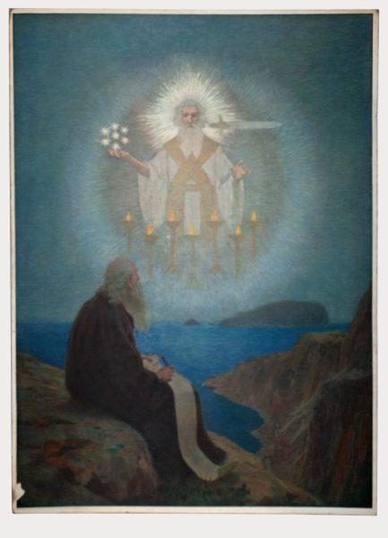 Gebhard Fugel (1863-1939), peintre allemand d'art sacré. 2007ss34